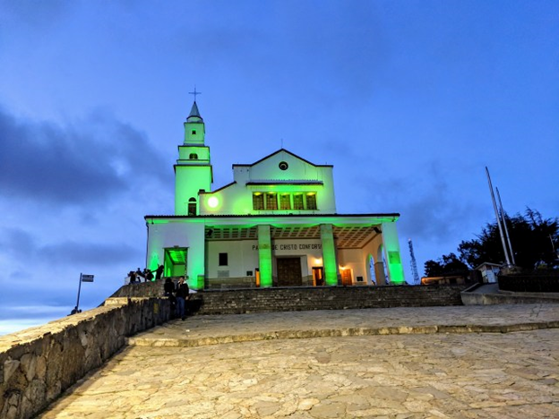 cathedral at top of moserrate
